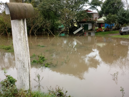 Defesa Civil faz alerta para enchente do Rio Jacuí