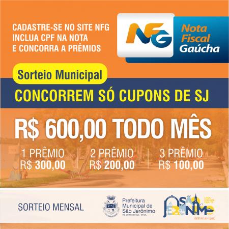 Inscreva-se no programa Nota Fiscal Gaúcha