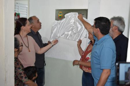 ADMINISTRAÇÃO ENTREGA REFORMA E AMPLIAÇÃO DA ESCOLA MUNICIPAL SALGADO FILHO